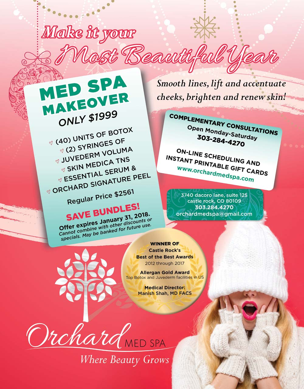 New Year Makeover Package